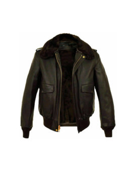 Mens-Brown-Aviator-Flying-Jacket