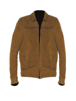 Mens-Brown-Sheepskin-Leather-Jacket