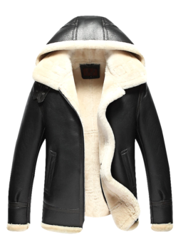 Mens-Sheepskin-Leather-Bomber-Jacket
