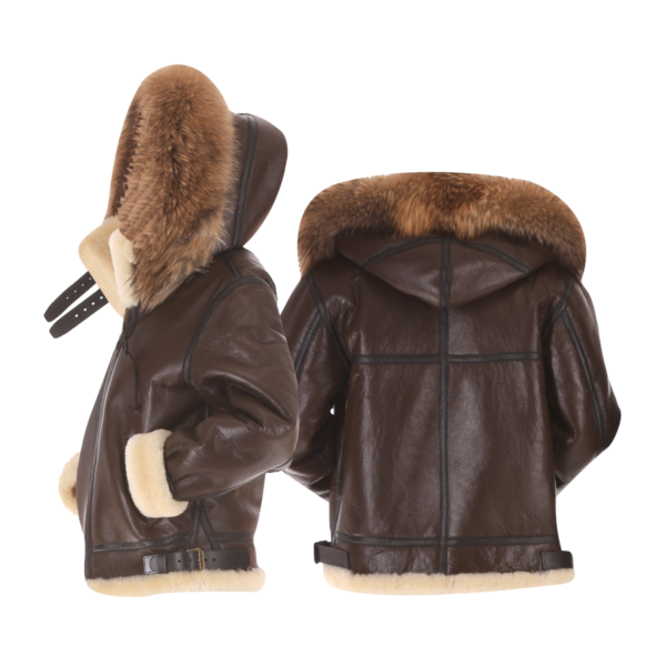 Mens-Sheepskin-Bomber-Fur-Jacket