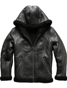 Mens-Sheepskin-Bomber-Leather-Jacket