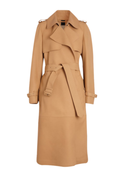 Lambskin-Wrap-Trench-Coat