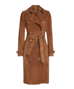 Suede-Trench-Coat-Tailored-Coat