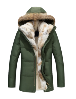 Raccoon-Fur-Warm-White-Duck-Feather-Coat
