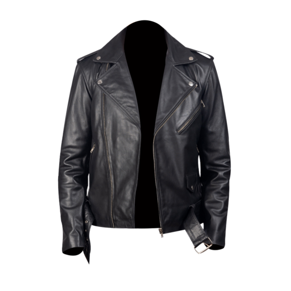 Mens-Allaric-Alley-Black-Leather-Biker-Jacket