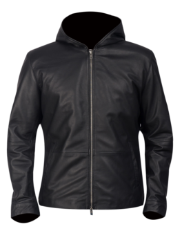 Andy-Matte-Black-Hooded-Leather-Jacket