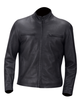 Austere-Matte-Black-Leather-Biker-Jacket