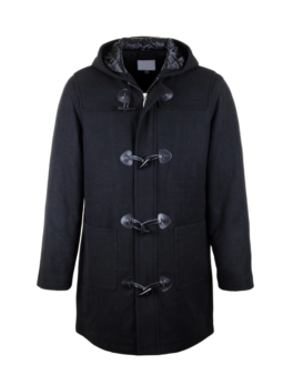 wool winter coat mens with zipper