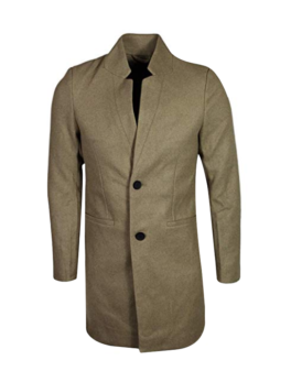 Mens Max Wool Trench Coat