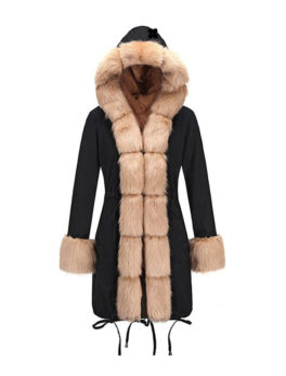 Imitation-Raccoon-Big-Fur-Collar-Coat