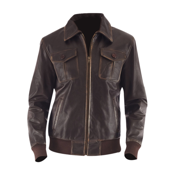 Aaron-brown-Leather-Bomber-Jacket