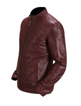 Burgunn-Dee-Maroon-Leather-Biker-Jacket