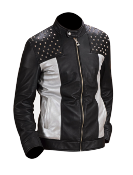 Mens-Shapron-Studded-Leather-Biker-Jacket