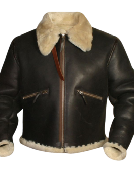 Mens-Sheepskin-Leather-Jacket