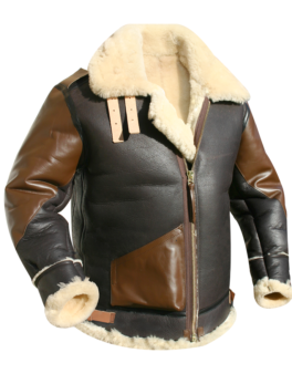 Mens-B3-Shearling-Flight-Jacket
