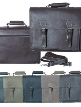 Real-Leather-Narrow-Hard-Briefcase