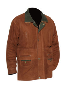 Mens-Nubuck-Leather-Parka-Coat