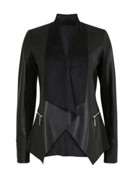 Womens-Black-Stitch-Waterfall-Jacket