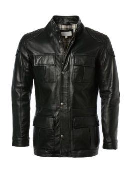 Men's-Black-Leather-Long-Coat