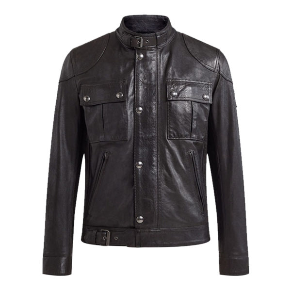 Gangster-Black-Biker-Jacket