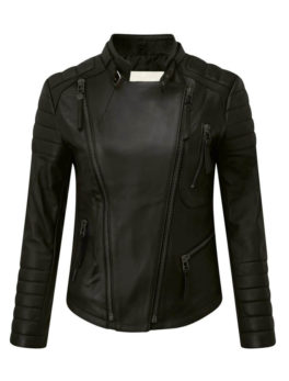 Womens-Black-Nappa-Leather-Jacket