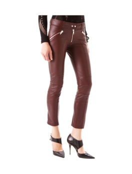 Modish Skinny Leather Pants