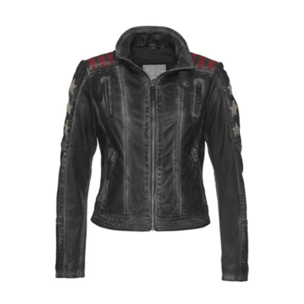 Womens-Sheepskin-Biker-Leather-Jacket