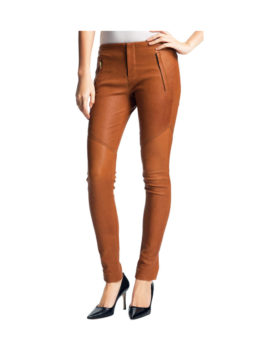 Super Slim Cozy Leather Pant