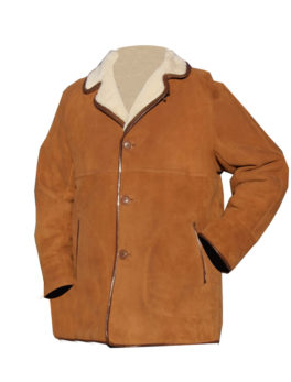 Tan-Shearling-Sheepskin-Coat
