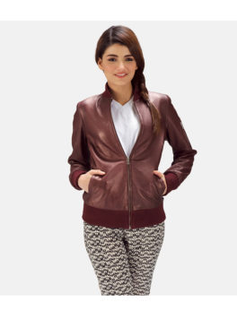 Reida-Maroon-Bomber-Leather-Jacket