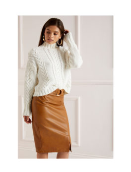 Lipsy-D-Ring-Pencil-Skirt