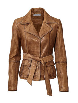 Heine-Womens-Camel-Leather-Jacket