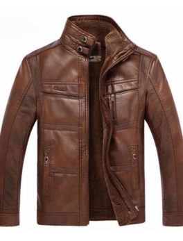 Onorio-Faux-Leather-Biker-Jacket