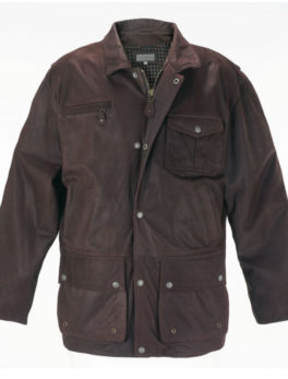 Mens-Peter-Brown-Leather-Coat