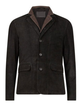 Mens-Liath-Black-Leather-Blazer