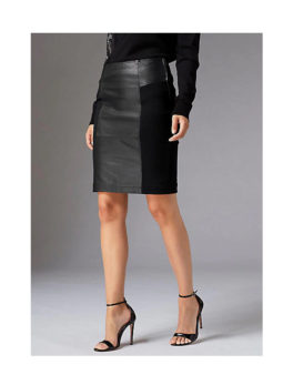 Guido-Maria-Kretschmer-Leather-Skirt