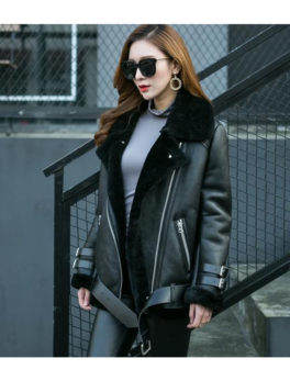 Black-Sheepskin-Leather-Shearling-Fur-Jacket
