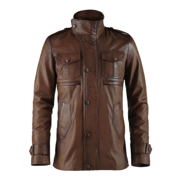 Antique-Brown-Leather-Jacket