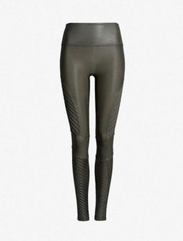 Moto Faux-Leather Leggings