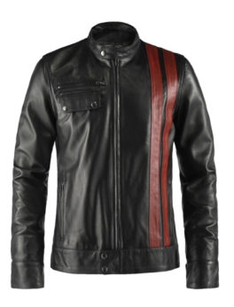 True-Black-Racer-Style-Leather-Jacket