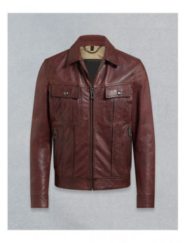 Mens-Dark-Maroon-Leather-Jacket