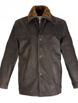Mens-Brown-Leather-Jakcet