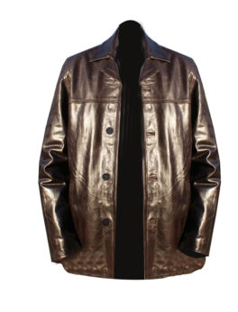 Mens-Brown-Semi-Glaze-Leather-Jacket