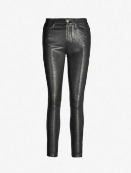 Le-High Skinny Leather Trousers