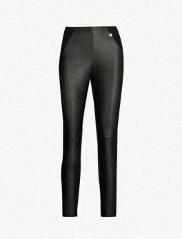 Priala High-Rise Skinny Faux-Leather Leggings