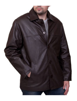 Mens-Porter-Brown-Leather-Jacket