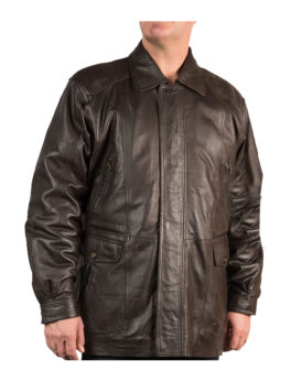 Mens-Berwick-Matt-Brown-Leather-Coat