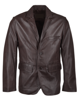 Mens-Capone-Leather-Blazer