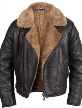 Men's Aviator B3 Flying Sheepskin Leather Jacket