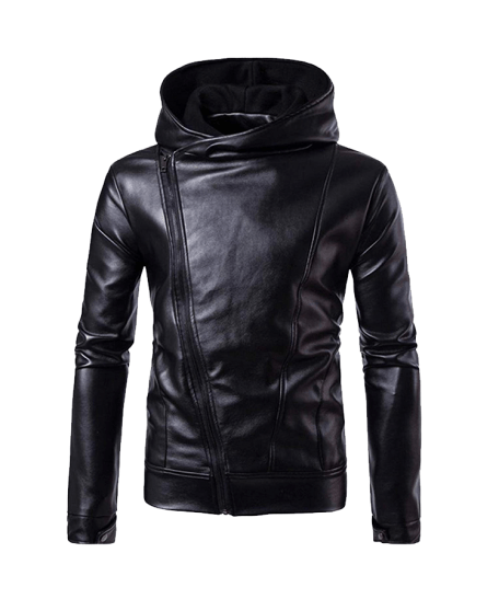 Men-Leather-Jacket-Autumn-Winter-Biker-Motorcycle-Zipper-Outwear-Warm-Coat